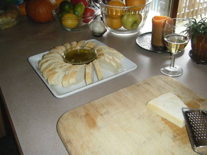 Garlic and Herb Bread Dipping Oil