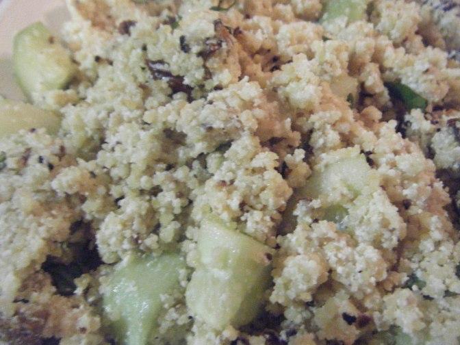 Fried Couscous Salad