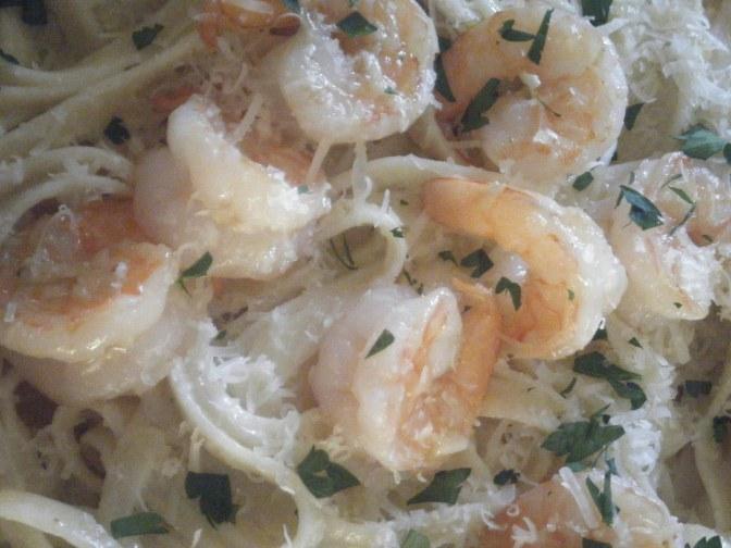 Garlic & Lemon Shrimp
