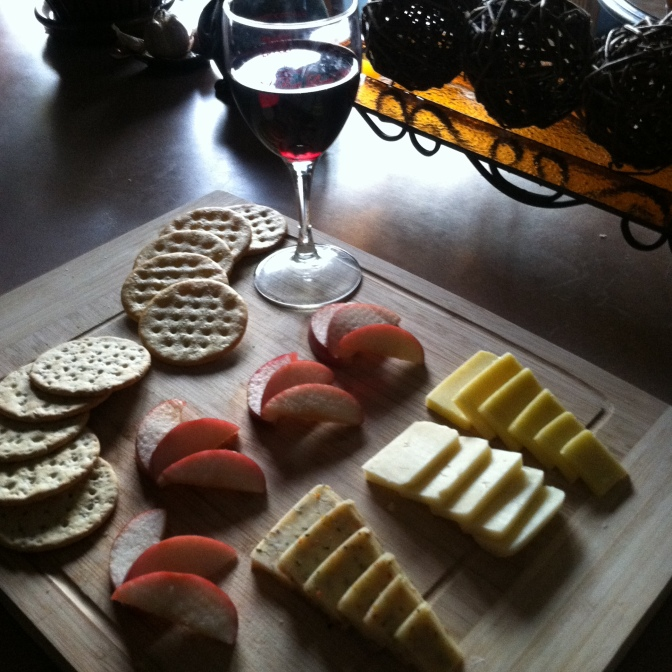 Homemade Cheese Board