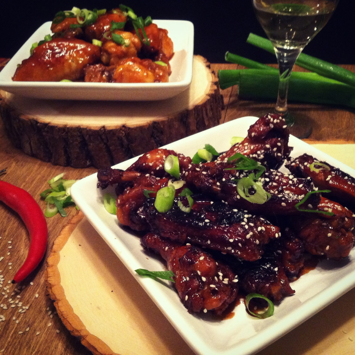 Homemade Teriyaki Chicken Wings