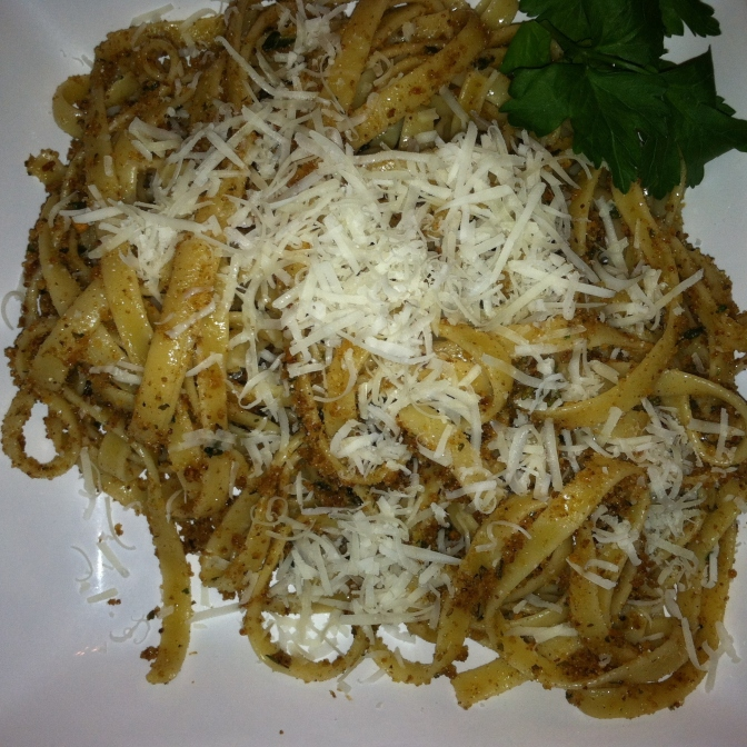 Brown Butter Garlic + Sage Fettuccine