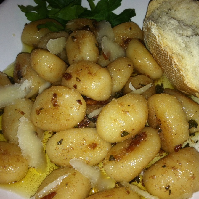 Brown Butter Garlic + Sage Gnocchi
